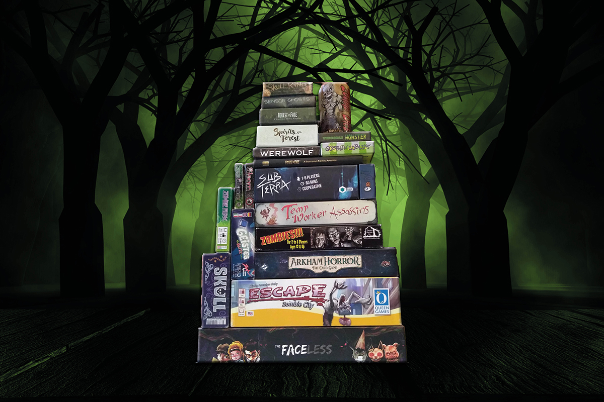 Halloween Board Games Web