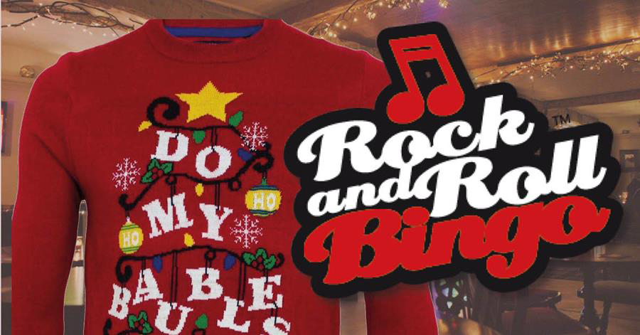 Christmas Jumper Rock & Roll Bingo - Myrtle