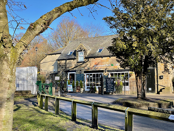 Three Cottages Cafe in Meanwood Park